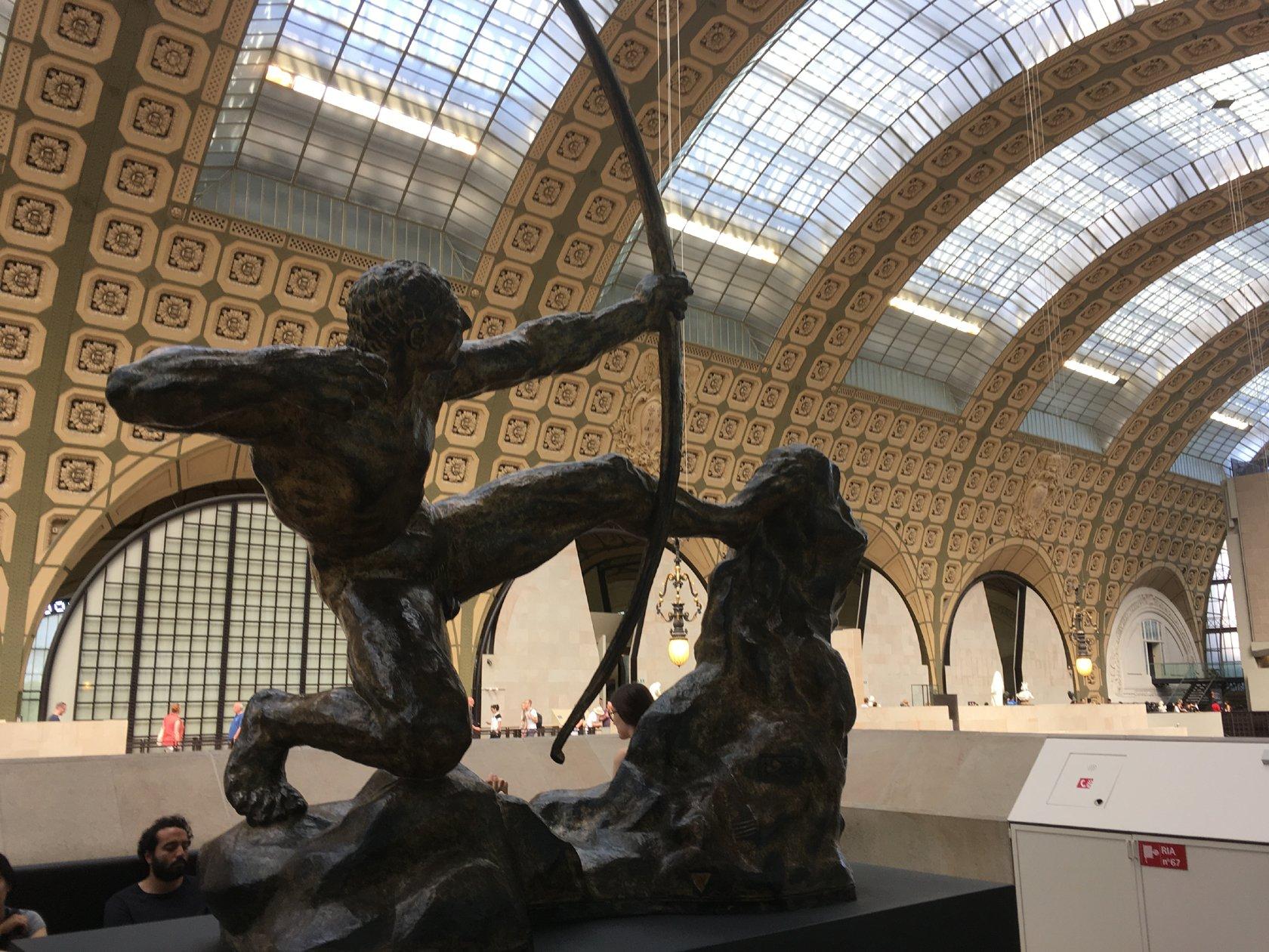 Emile-Antoine Bourdelle: Herakles der Bogenschütze (Musée d'Orsay) - (c) Marcus Heinke