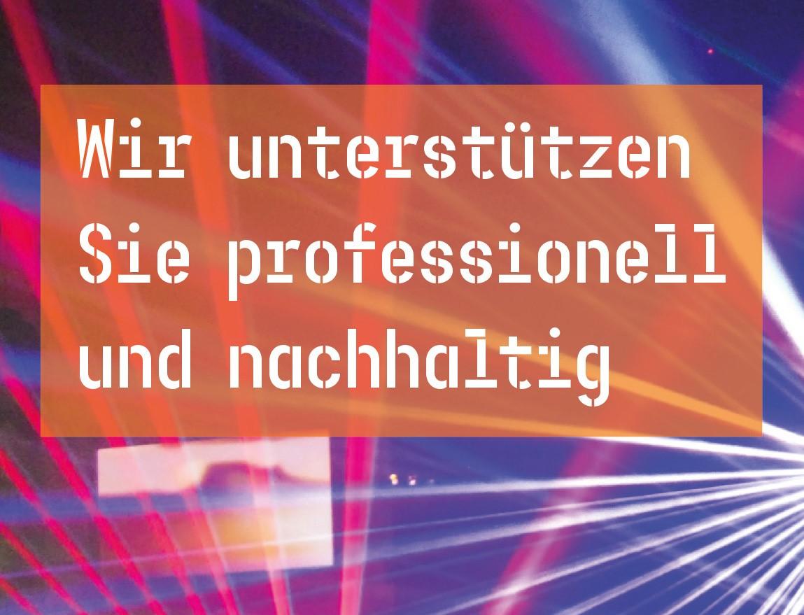 Wir unterstützen Sie professionell und nachhaltig